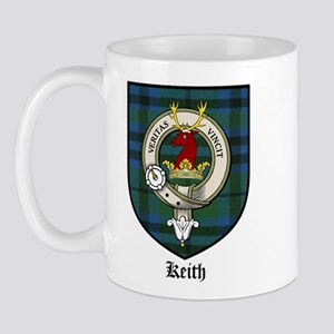 Keith Clan Crest Tartan Mug