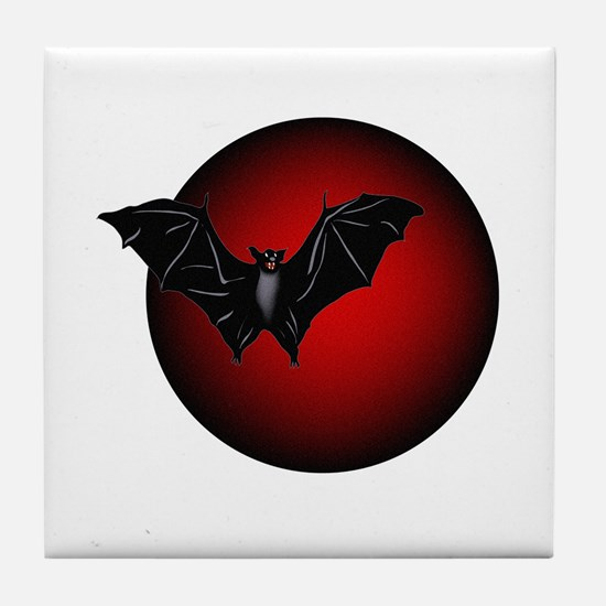 Dark Thoughts Tile Coaster