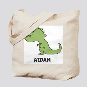 Personalized Dinosaur Tote Bag