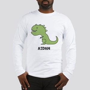 Personalized Dinosaur Long Sleeve T-Shirt