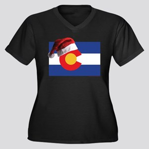 Christmas in Colorado Plus Size T-Shirt