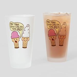 icecreamcartoon2 Drinking Glass
