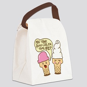 icecreamcartoon2 Canvas Lunch Bag