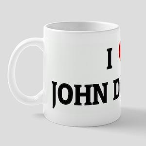 I Love JOHN DEACON Mug