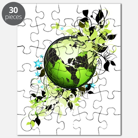 live green Puzzle