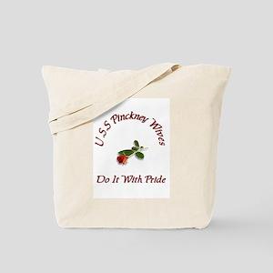 uss pickney wives Tote Bag