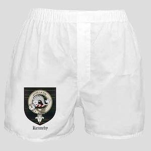 Kennedy Clan Crest Tartan Boxer Shorts