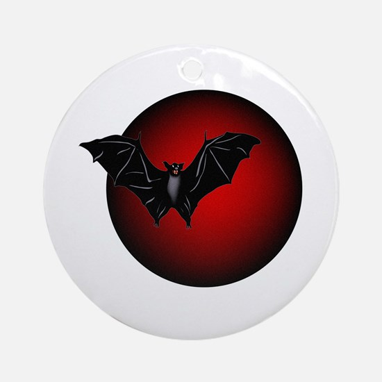 Dark Thoughts Ornament (Round)