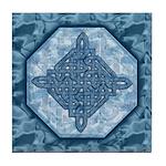 Celtic Diamond (Aqua) Decorative Tile