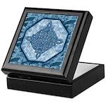 Celtic Diamond (Aqua) Keepsake Box