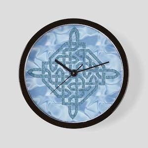 Celtic Diamond (Aqua) Wall Clock