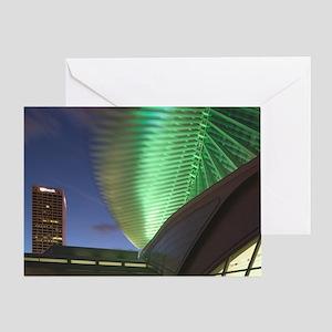 Architect: Santiago Calatrava (note  Greeting Card