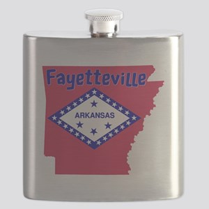 Fayetteville Arkansas Flask
