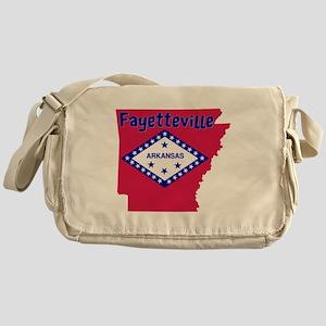 Fayetteville Arkansas Messenger Bag