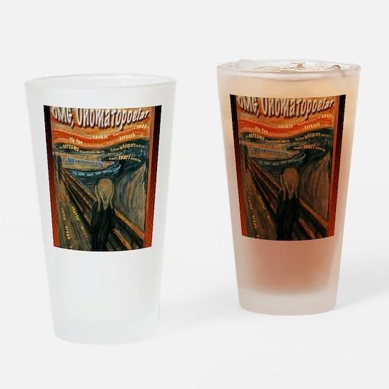 Scream-Compressed Drinking Glass