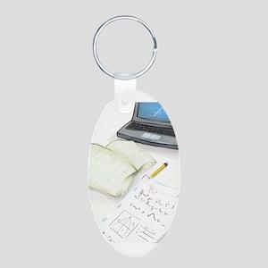 I'm Not Magical Mommy art Homework design Keychain