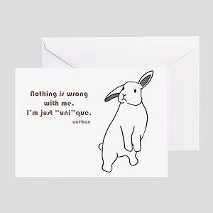 Xuni-bun copy Greeting Card