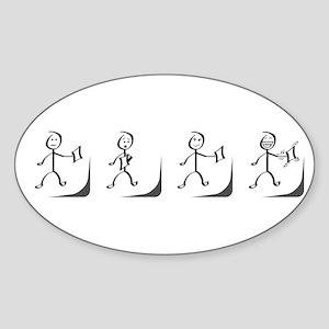 Hokie Pokie Sticker (Oval)