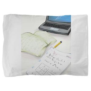 I'm Not Magical Mommy art Homework design Pillow S