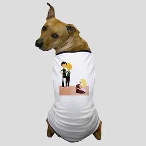Pup_Family_5x7 Dog T-Shirt