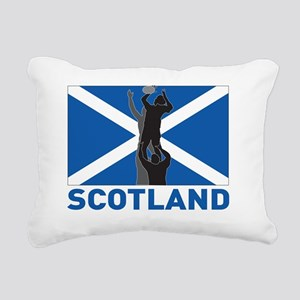 Rugby lineout throw ball Rectangular Canvas Pillow