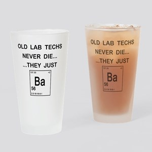 Old Lab Techs copy Drinking Glass