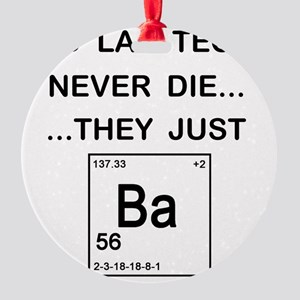 Old Lab Techs copy Round Ornament