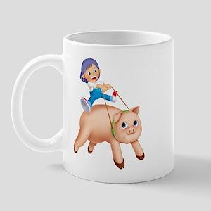 Piggyback Right-handed Mug