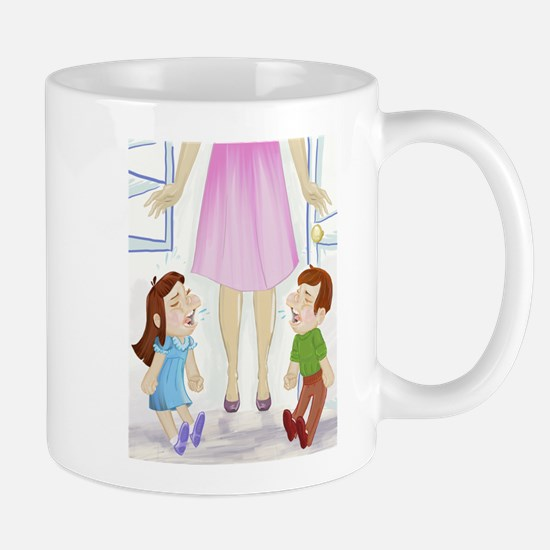 I'm Not Magical Mommy art Tantrums Mugs