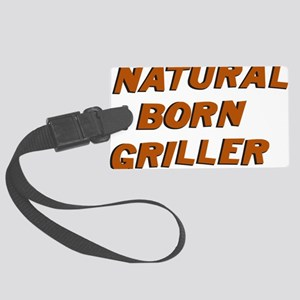 Natural Born Griller Dexter Large Luggage Tag