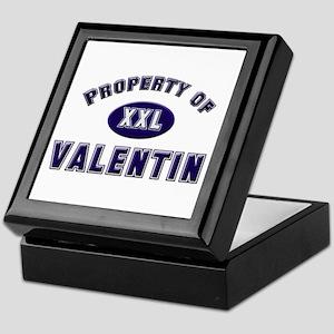 My heart belongs to valentin Keepsake Box