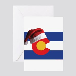Christmas in Colorado Greeting Cards