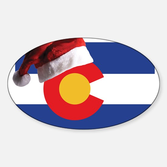 Christmas in Colorado Decal