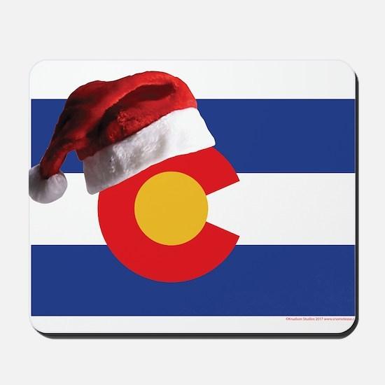 Christmas in Colorado Mousepad