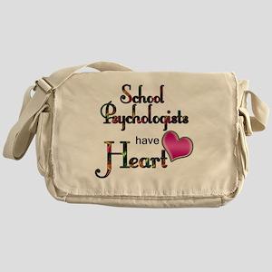 Teachers Have Heart psycho Messenger Bag