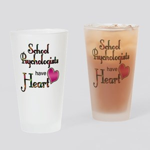 Teachers Have Heart psycho Drinking Glass