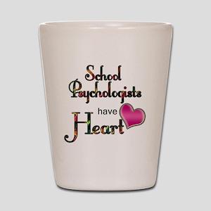 Teachers Have Heart psycho Shot Glass