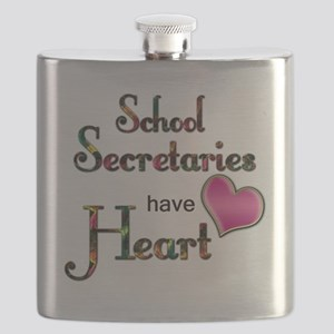 Teachers Have Heart school secretary Flask