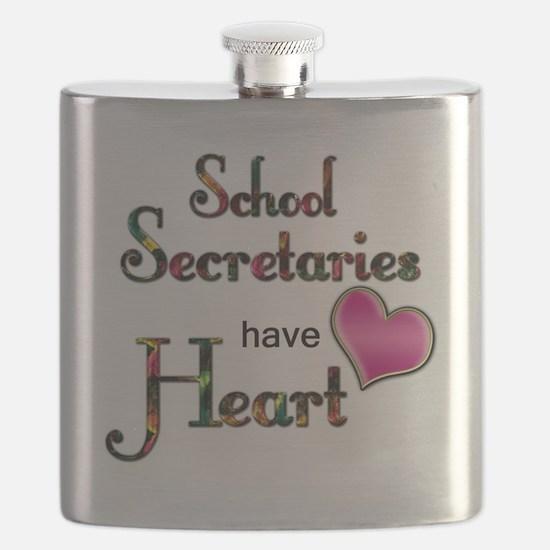 Teachers Have Heart school secretary Flask