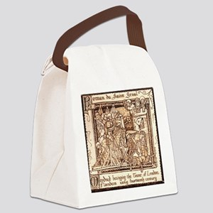 Besieging the Tower Canvas Lunch Bag
