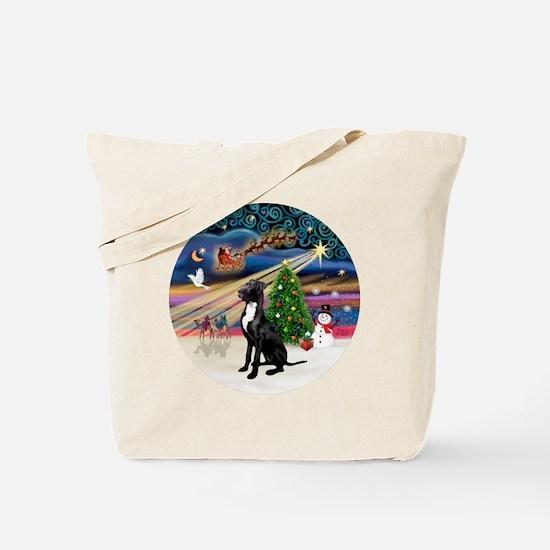Xmas Magic - Great Dane (black-natural) Tote Bag