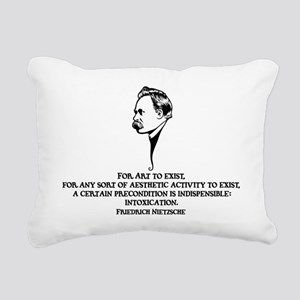 Nietzsche-art-1-LTT Rectangular Canvas Pillow