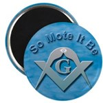 Masonic So Mote It Be Magnet