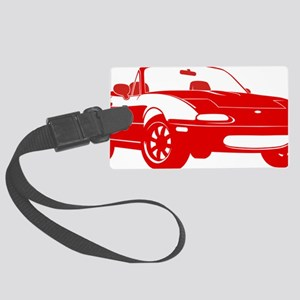 NA red Large Luggage Tag