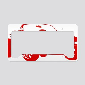 NA red License Plate Holder