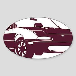 NA merlot Sticker (Oval)