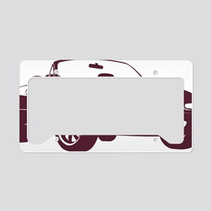 NA merlot License Plate Holder
