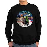 Labrador christmas Sweatshirt (dark)
