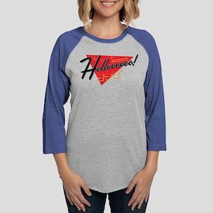 Helloooooo! Womens Baseball Tee