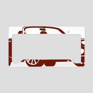 2-NC copper License Plate Holder